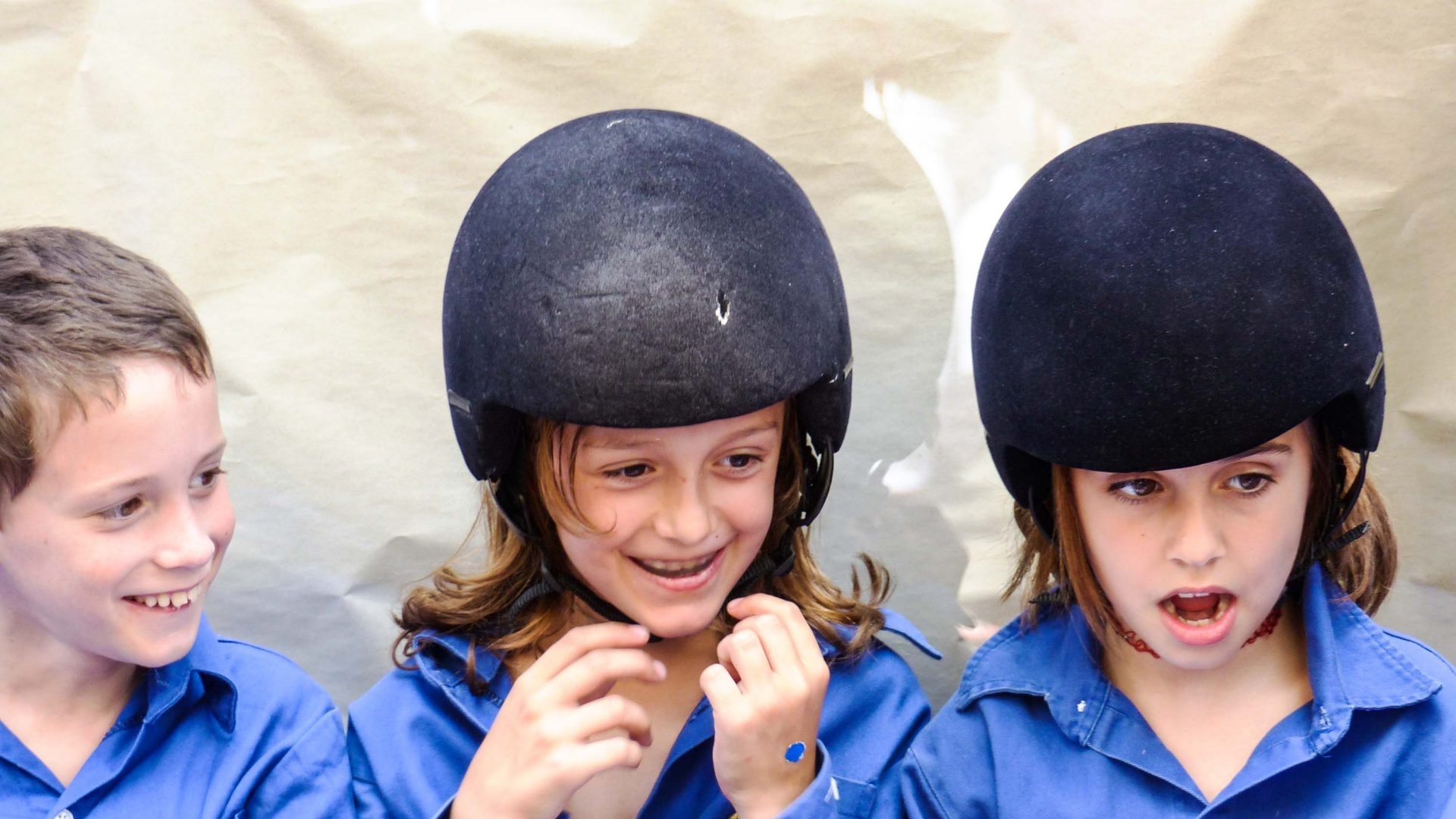 Children who join the castellers now wear helmets after a 12-year-old girl fell to her death in 2006.