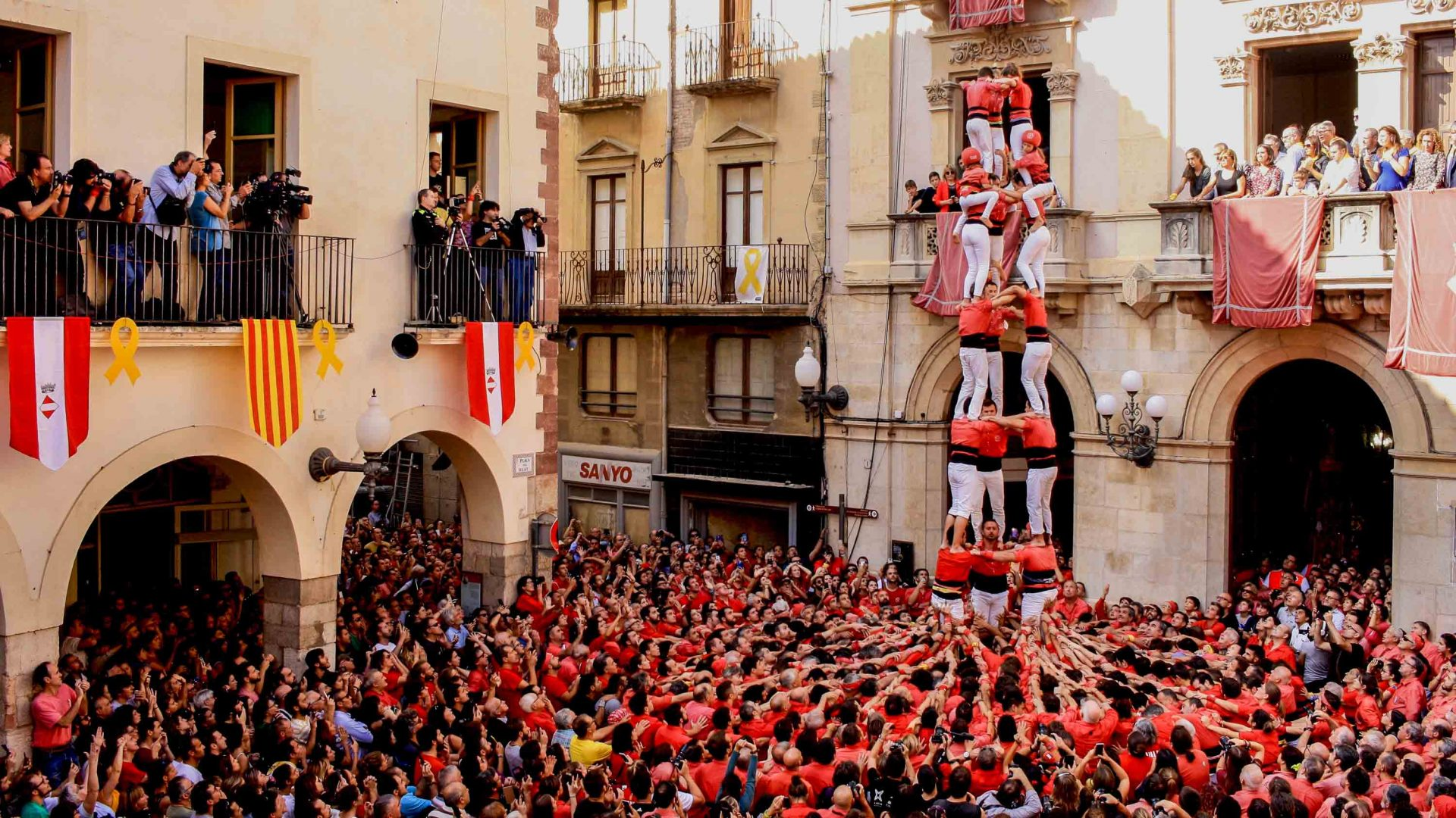 Behind the mind-boggling human carpentry of Catalonia's castellers