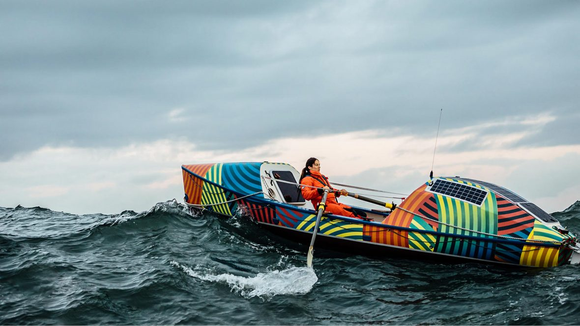 Meet the woman who's sailed the equivalent of eight laps around the world