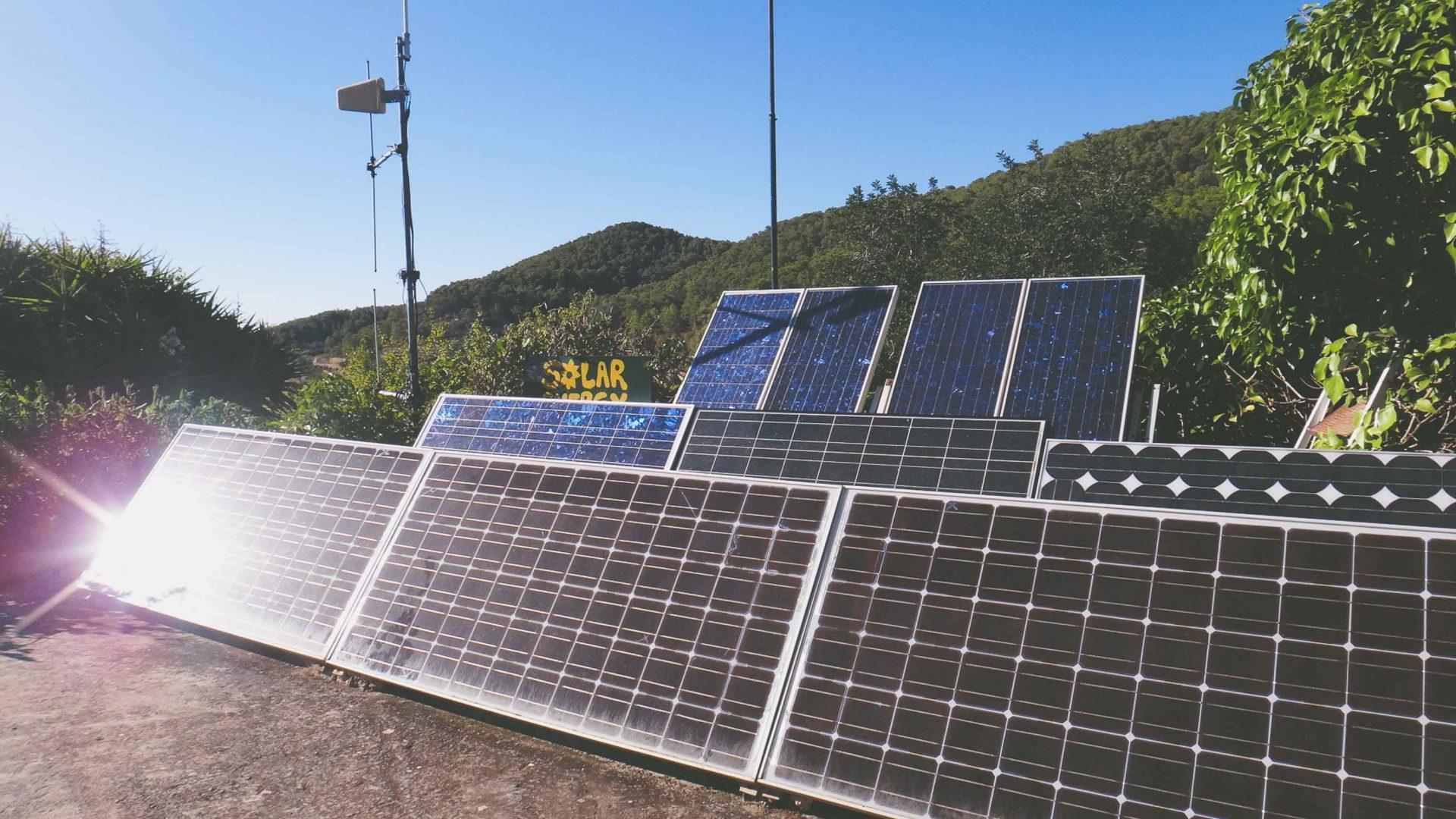Using abundant renewable energy in Ibiza.