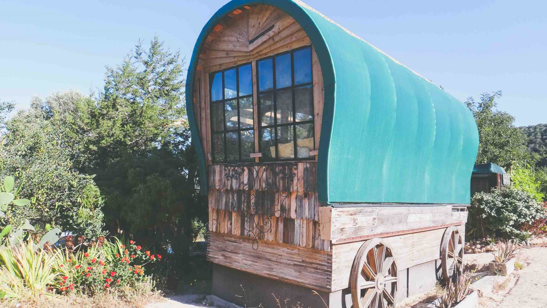 The Wagon house at Casita Verde.