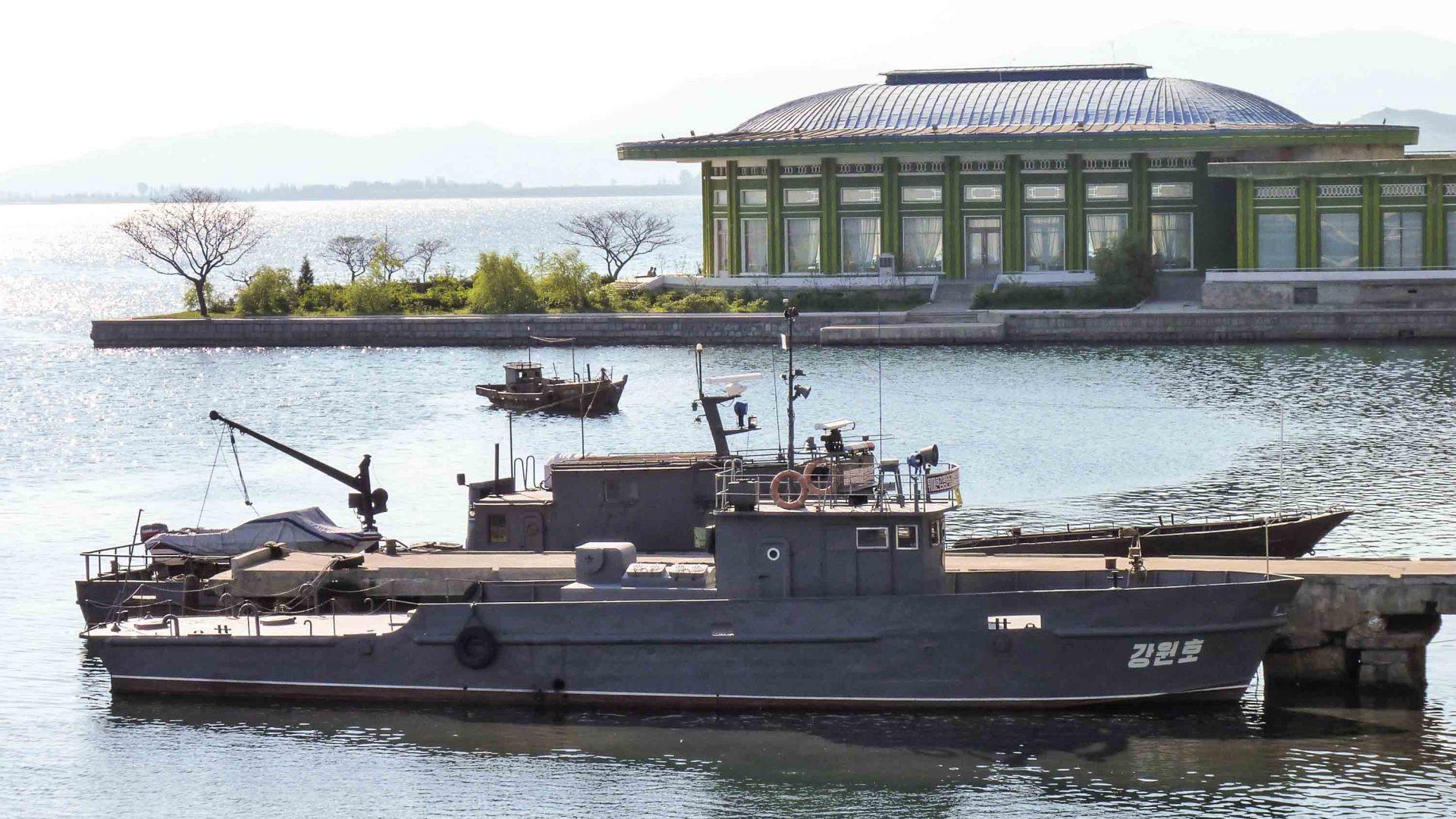 Wonsan Harbor.