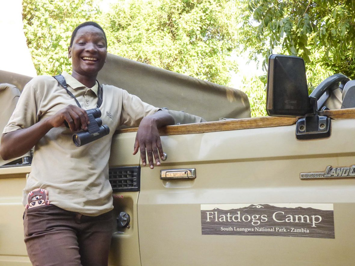 Safari Guide Mable Mwanza.
