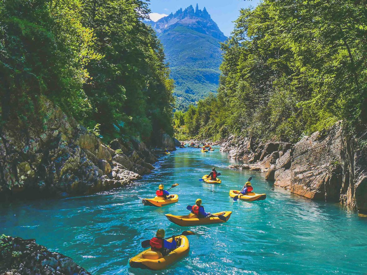 Fewer places could be more scenic for rafting than Patagonia's wild rivers in Chile.