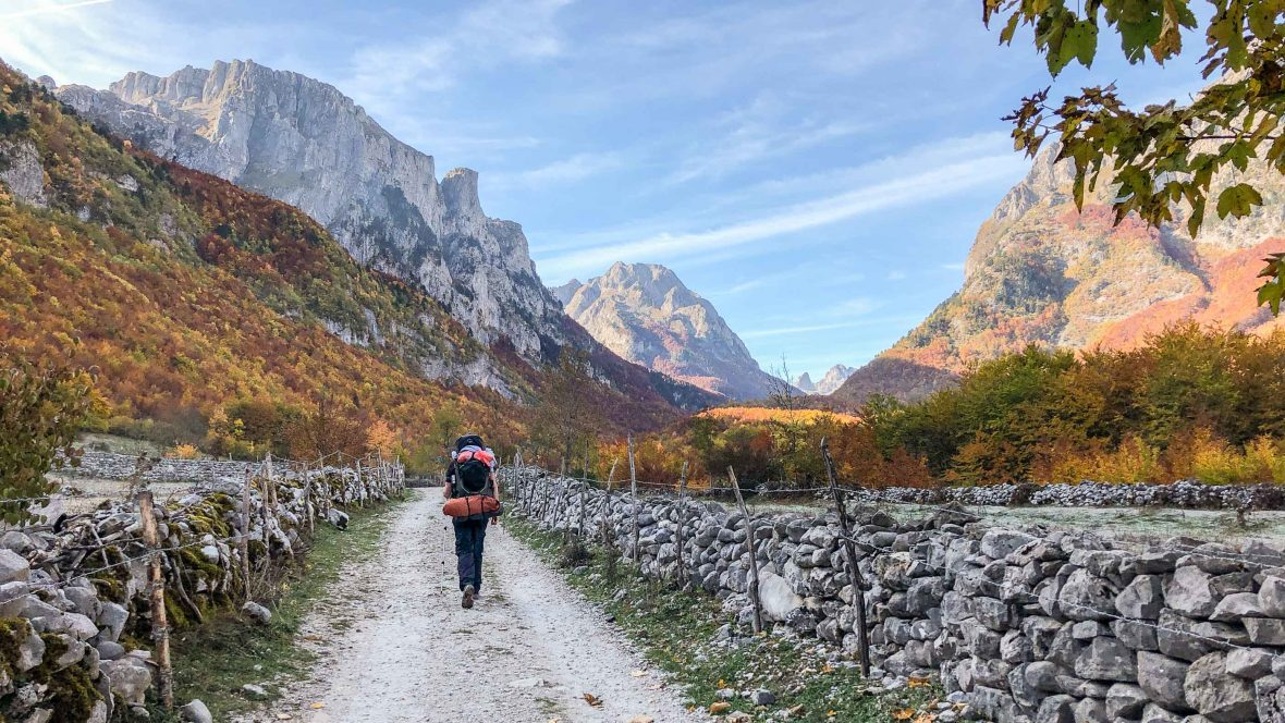 What's it like to hike through the Balkan borderlands?