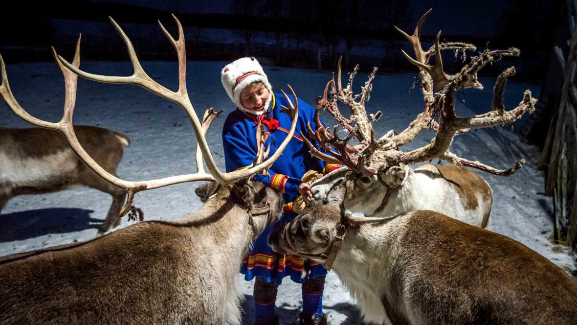 In photos: Following the footsteps of Sweden's reindeer herders