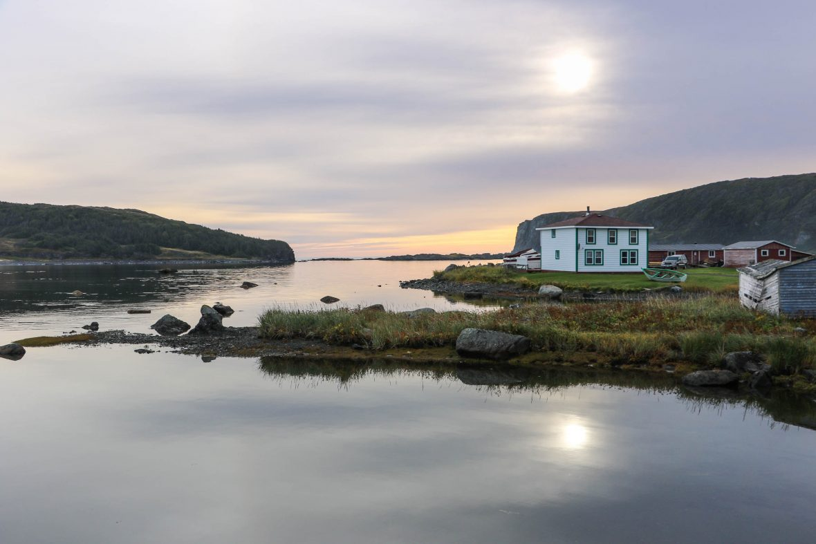 A tranquil scene in the province of Newfoundland, Atlantic Canada.
