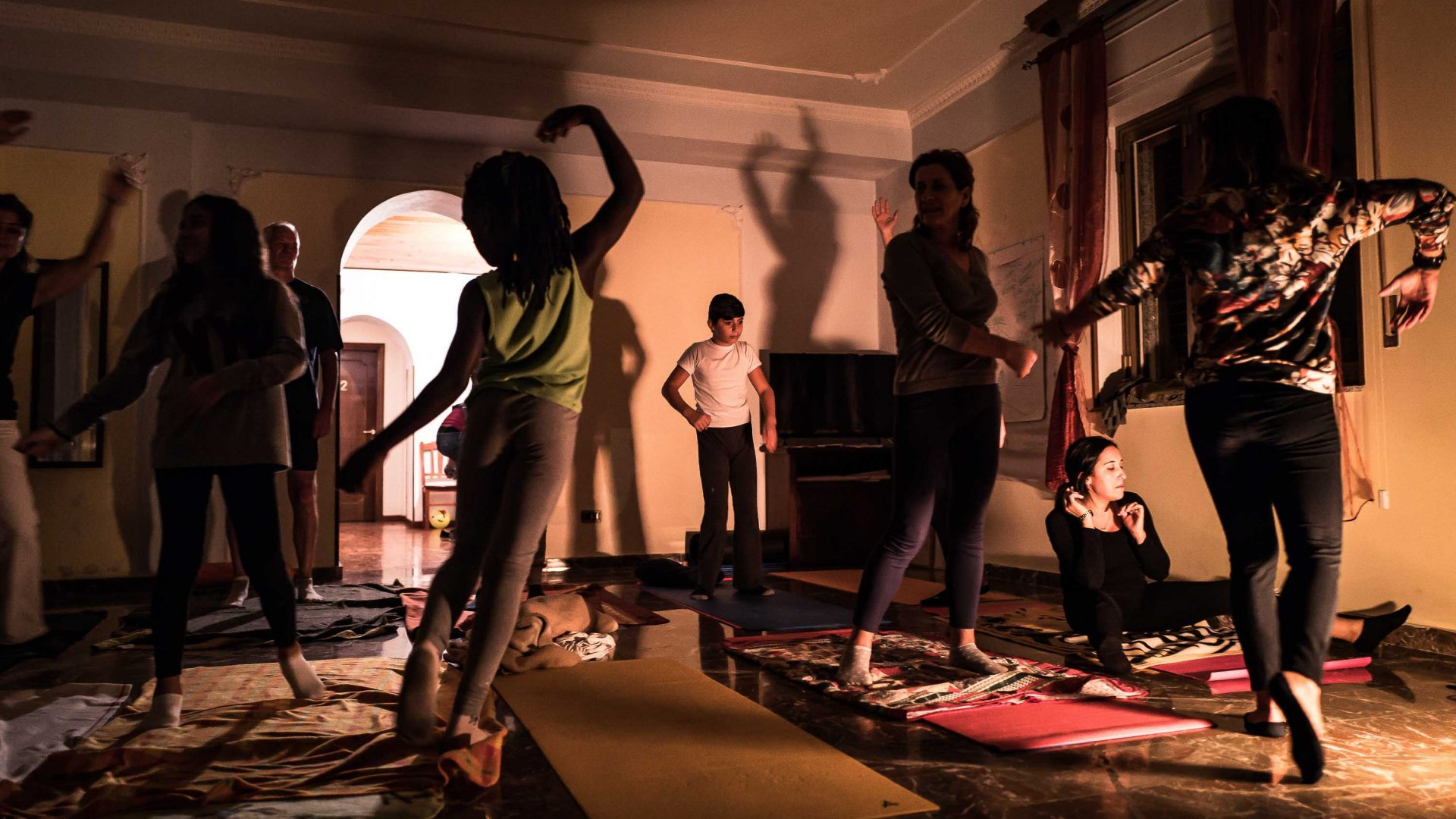 Dance is used to help refugees to integrate into the local community.