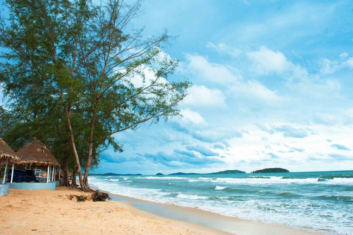 Otres beach, Sihanoukville, Cambodia.