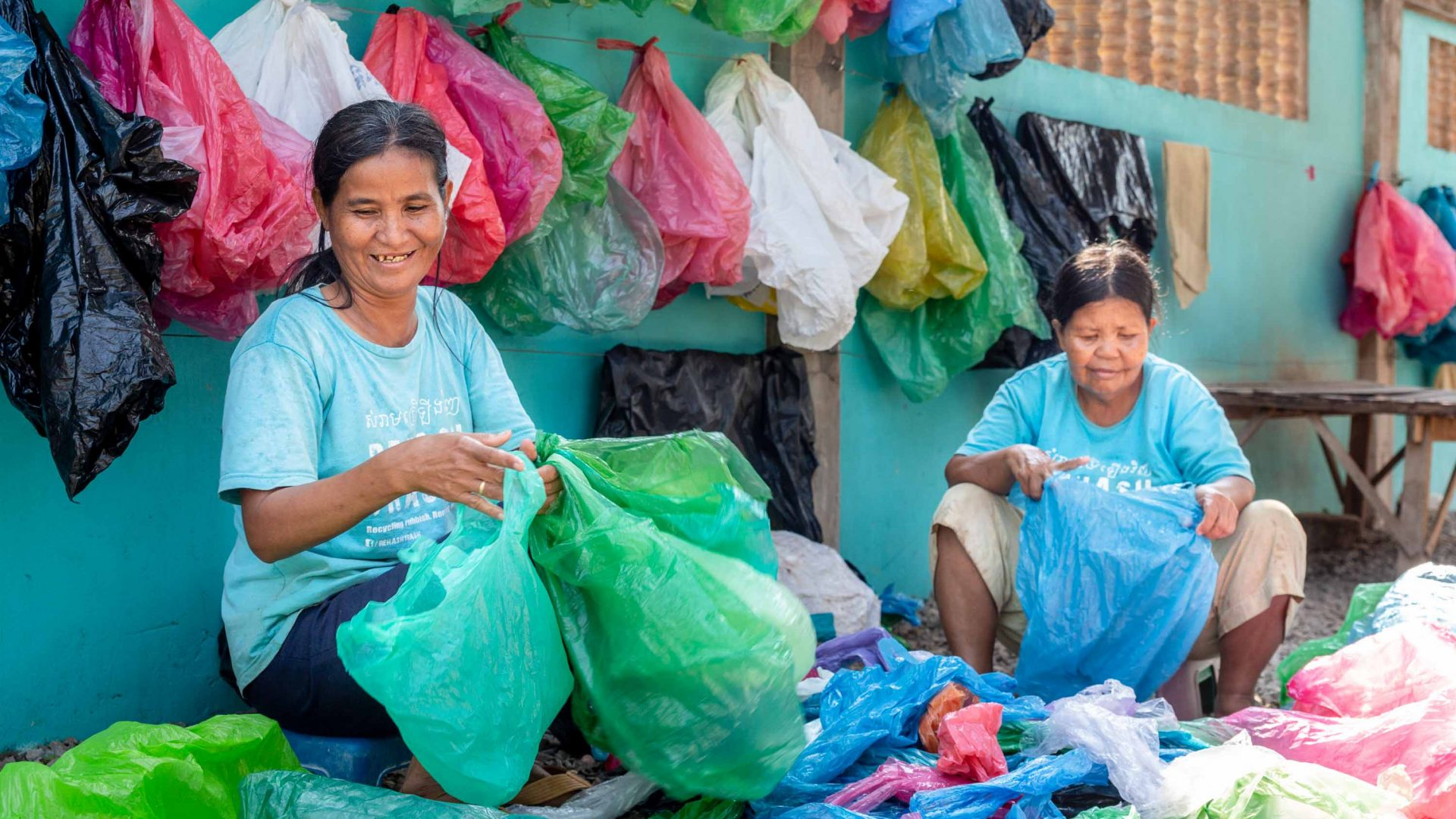 The social enterprise that's changing lives and cleaning up Cambodia