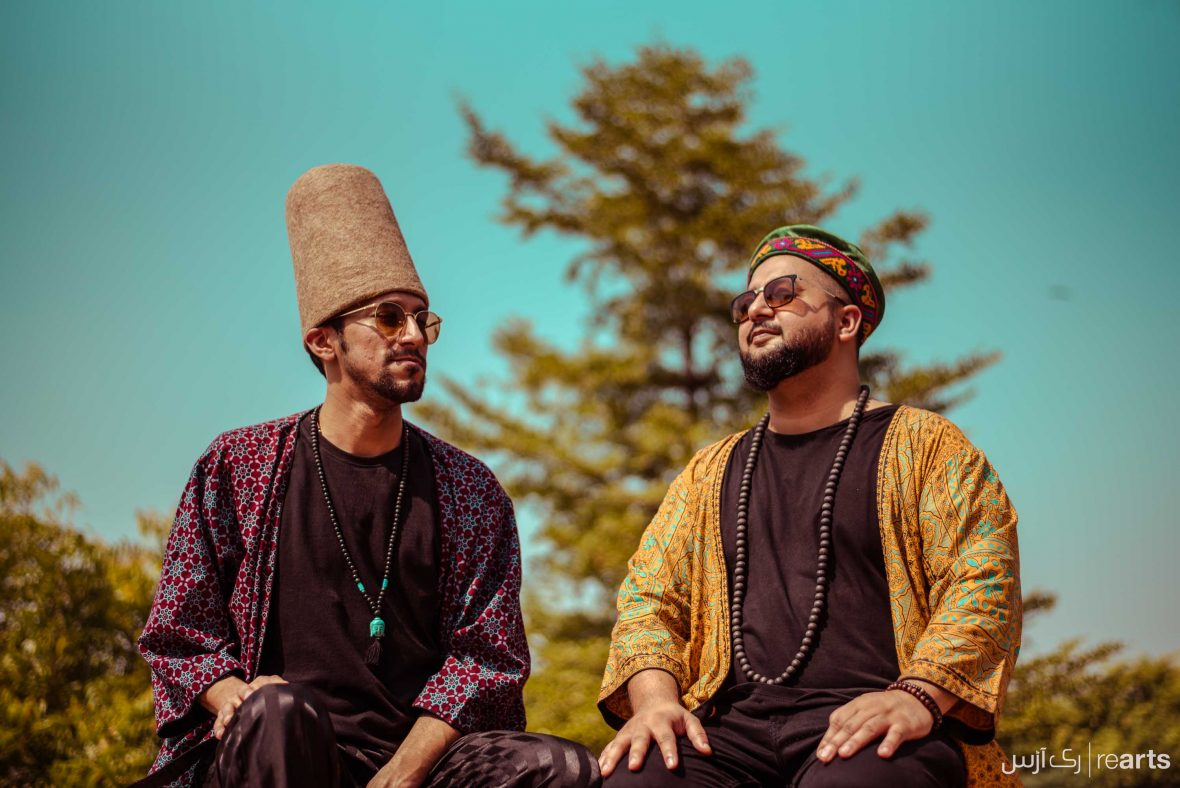 Mohammed 'Mosh' Shah and DJs Omair Anjum are better known by their stage name, Fake Shamans.