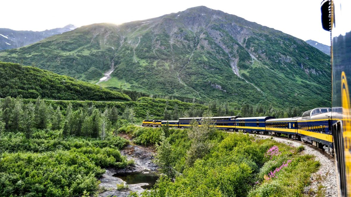 In Alaska, the railroad leads to nowhere, and that's absolutely fine