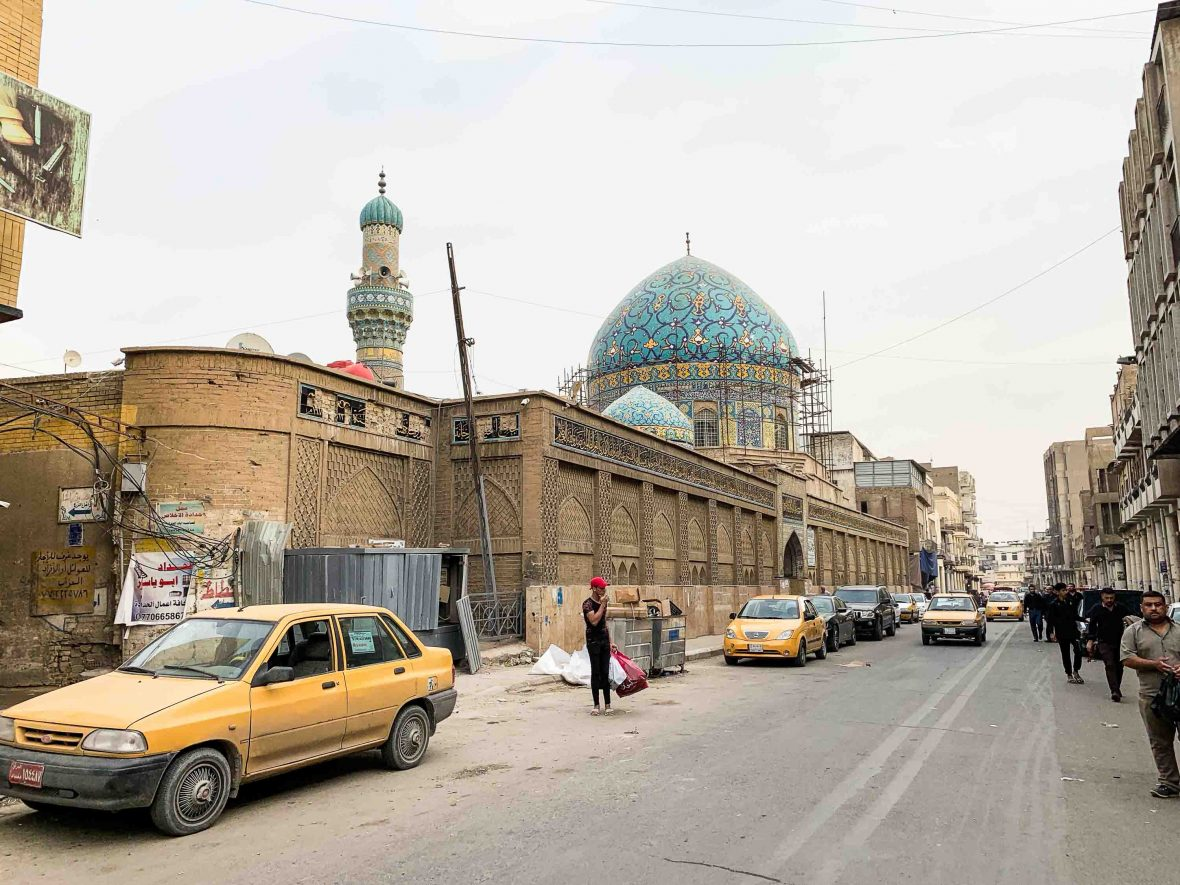 Al-Rashid Street in Baghdad, Iraq.