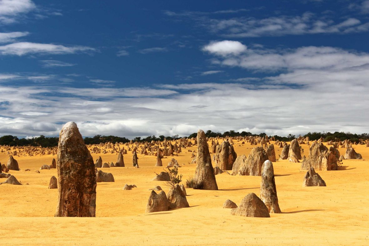 The Pinnacles Desert, Cervantes, Australia.