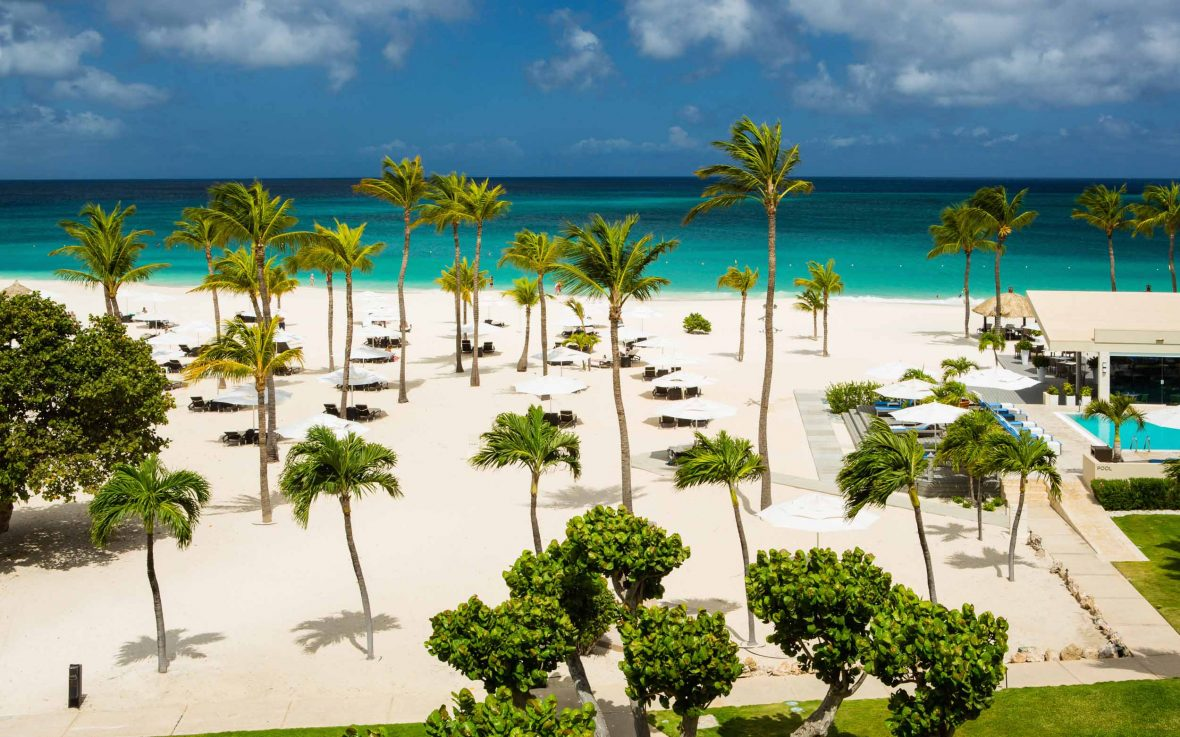 Bucuti & Tara Beach Resort, Aruba, is the Caribbean's only certified carbon-neutral resort.