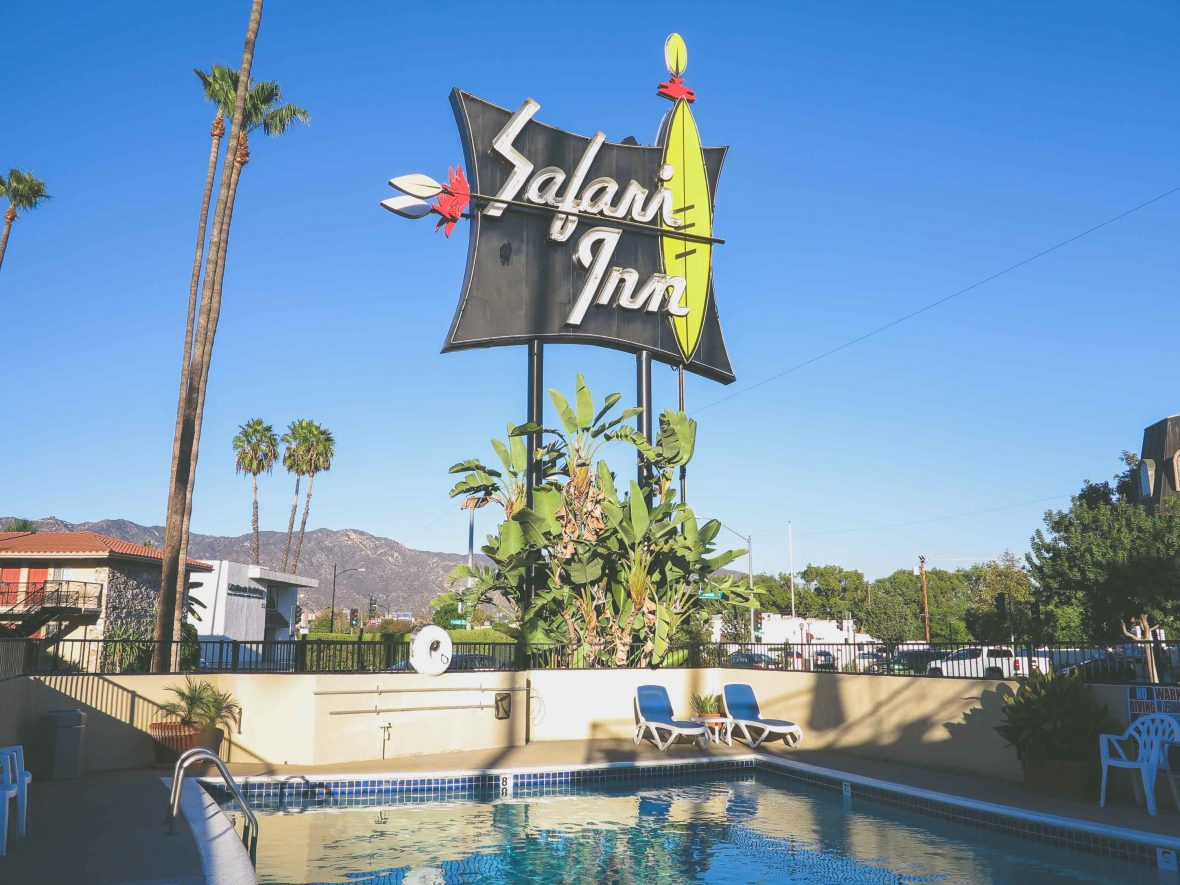 The retro appeal of the Safari Inn has seen it feature in many movies, TV series and music videos, but none have had quite as much impact as True Romance.
