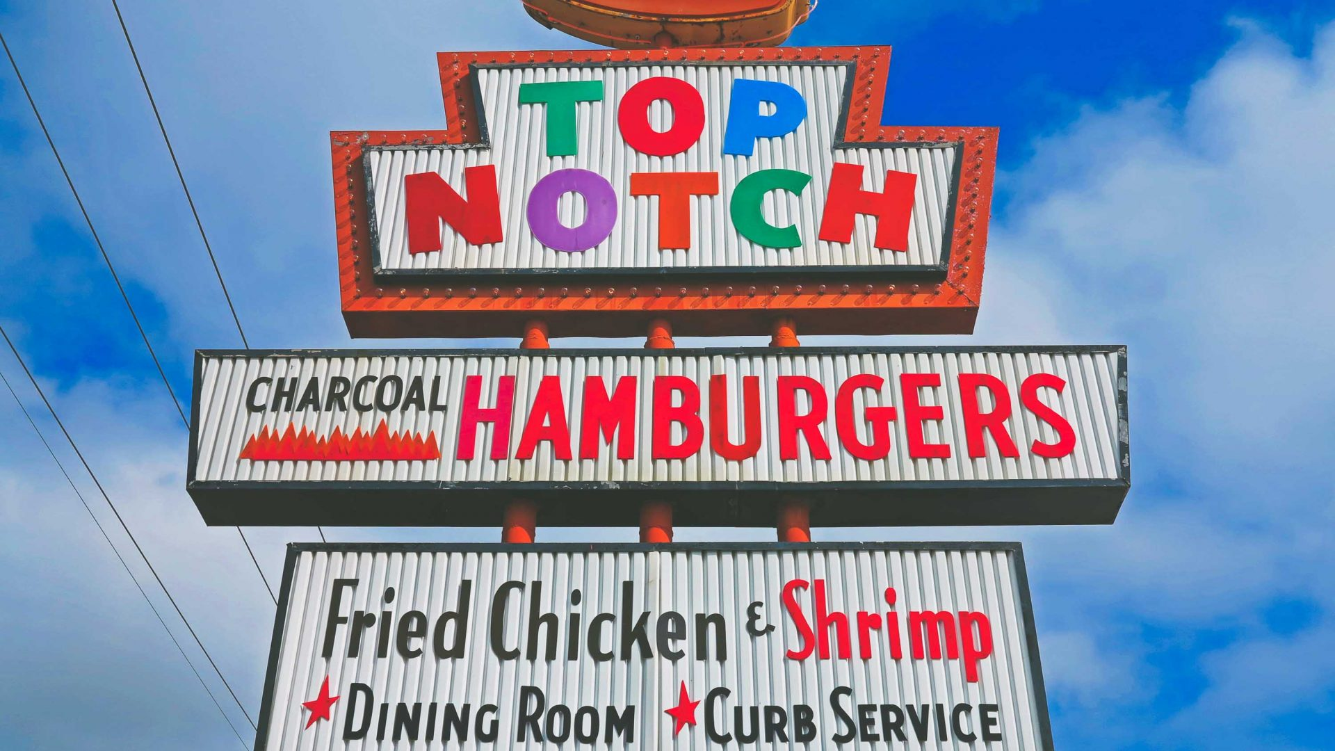 Top Notch Hamburgers, a 1970s-era burger joint where '90s coming-of-age classic Dazed and Confused was filmed.