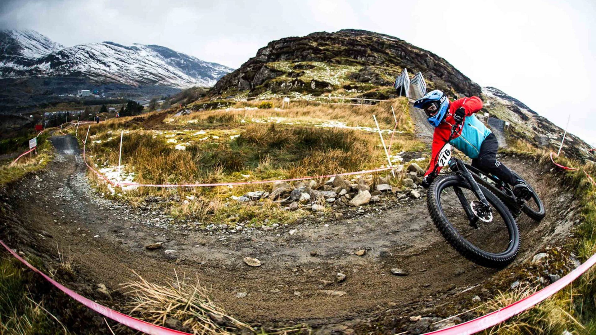 Antur Stiniog's mountain bike trails.