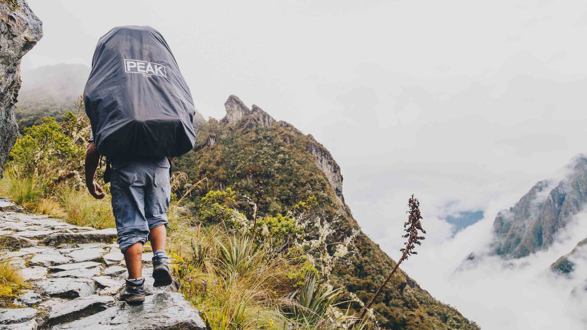 This porter has hiked the Inca Trail hundreds of times, but never seen Machu Picchu