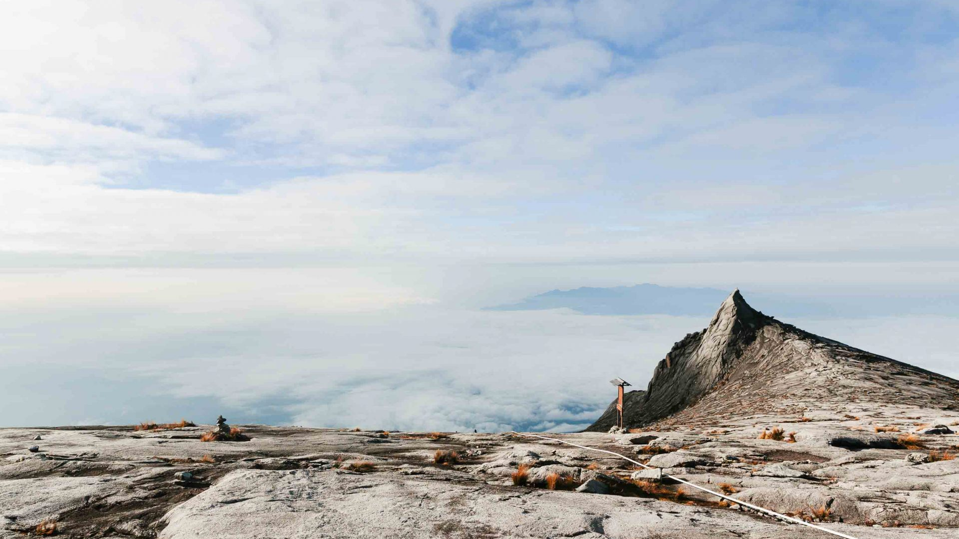 Mount Kinabalu summit approach in Borneo.