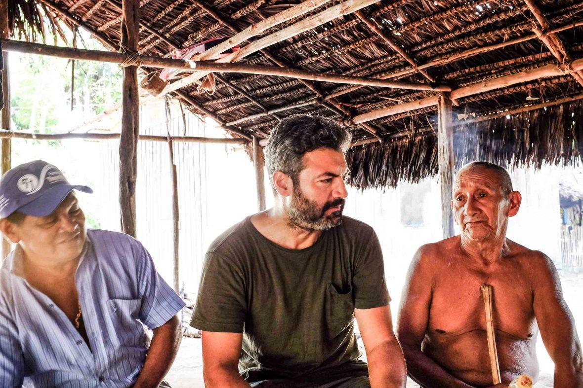 Meeting the Munduruku tribe in the Brazilian Amazon.