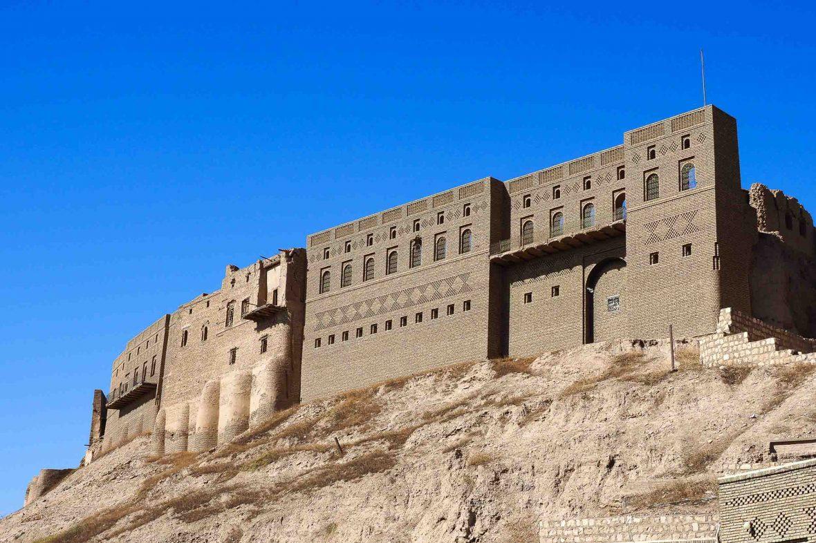 A Citadel in Erbil, Iraq.
