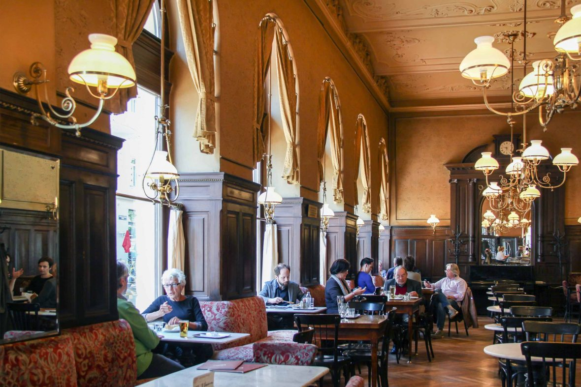 Cafe Sperl in Vienna, Austria.