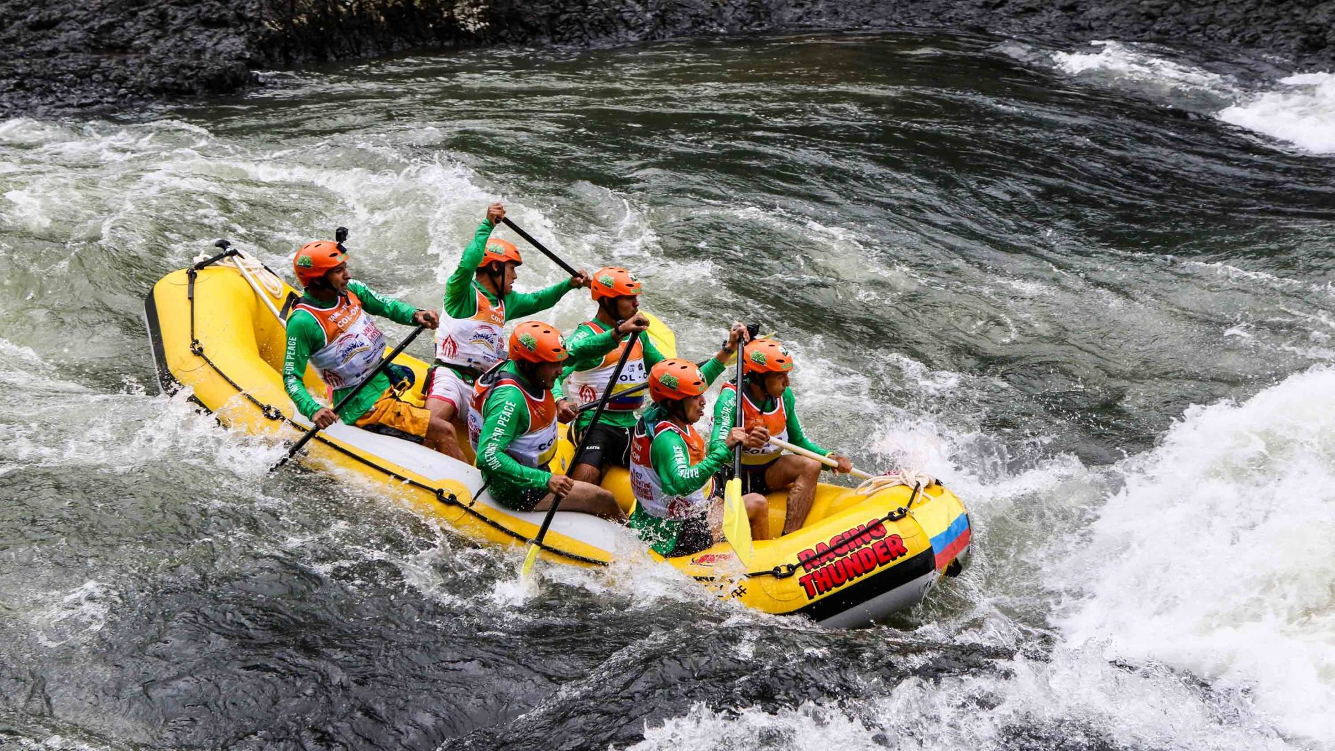 Paddling for peace: Meet the ex-rebels turned Colombian rafting guides