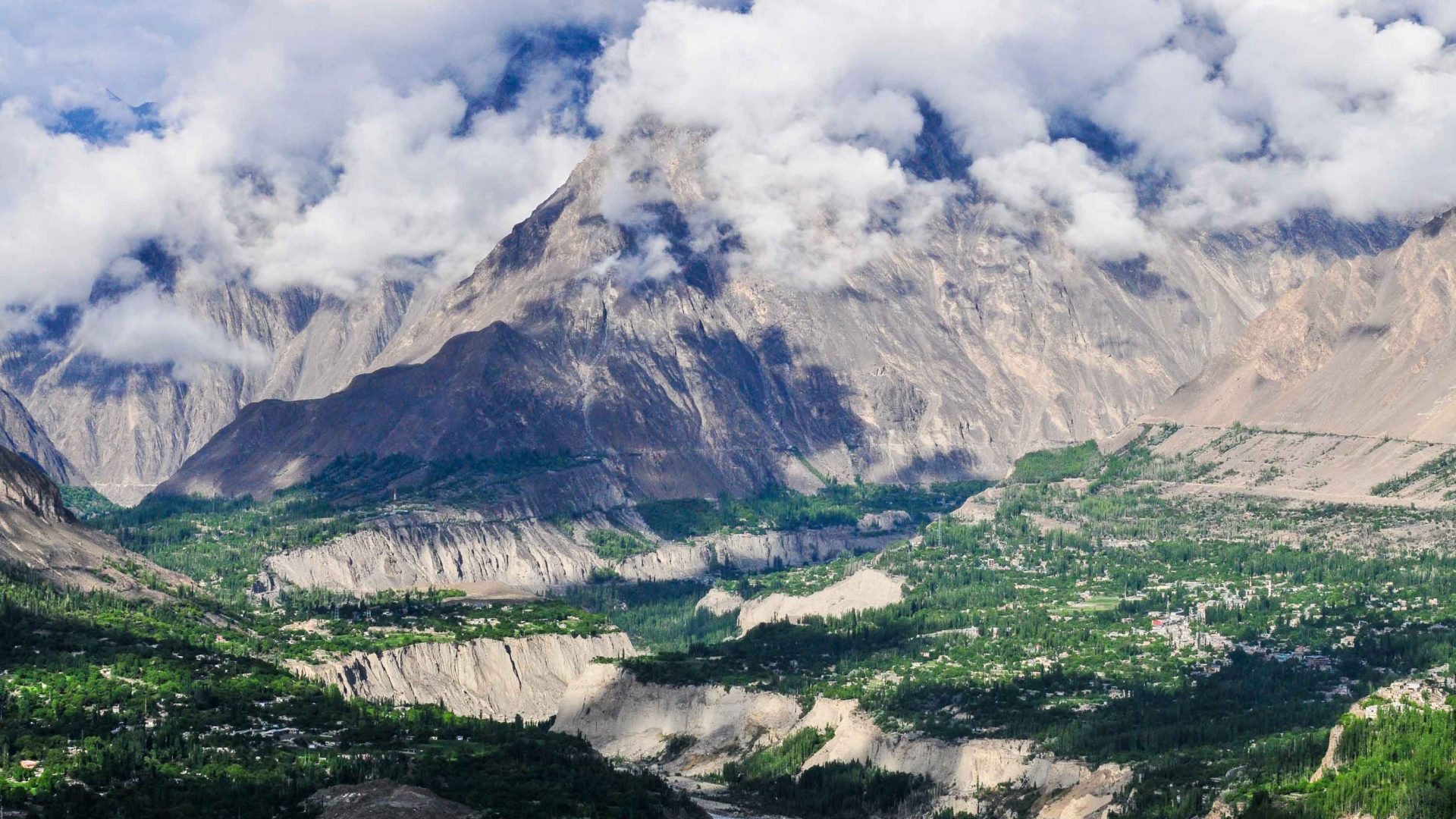 Hunza Valley, Pakistan.
