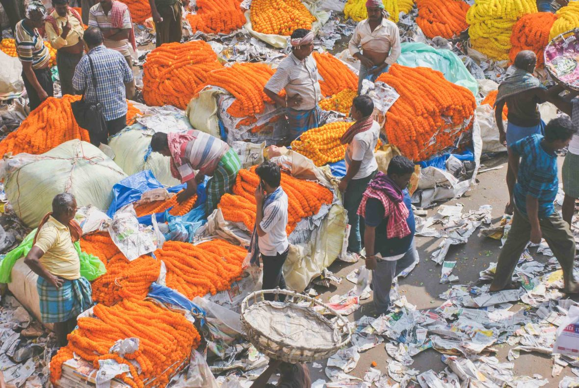 Traders in India are increasingly using paper instead of plastic to try and curb the plastic problem.