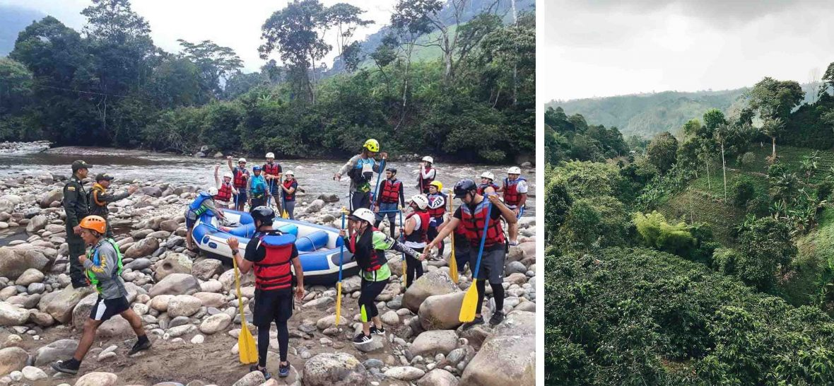 EX FARC insurgents now work with their company Caguán Expeditions whch offers rafting, hiking, bird-watching and simple accommodation.
