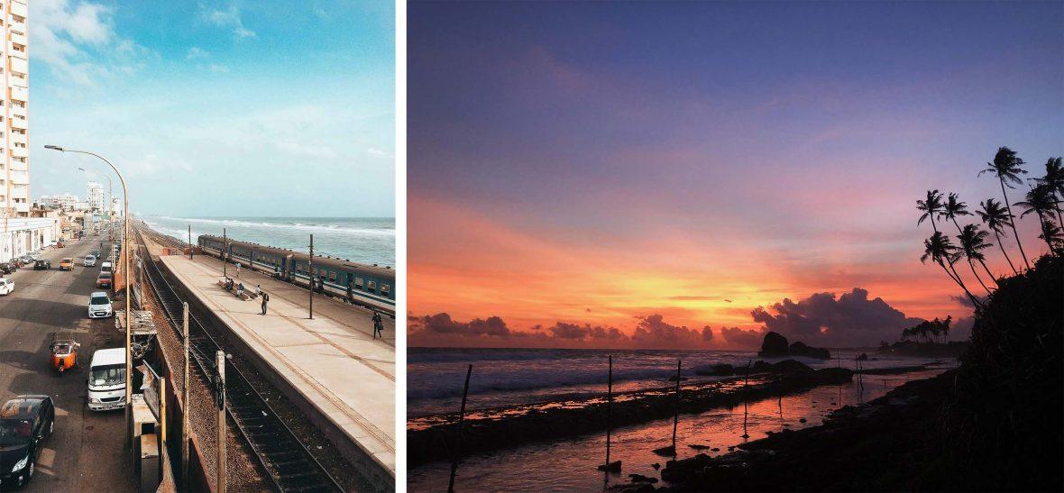 Colombo seafront, Sri Lanka.