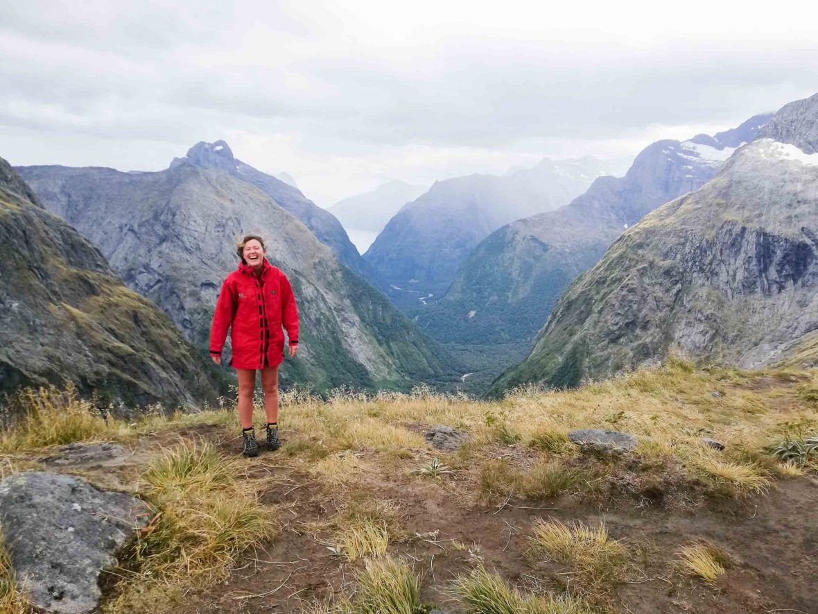 Melanie Vautier adventuring in New Zealand.