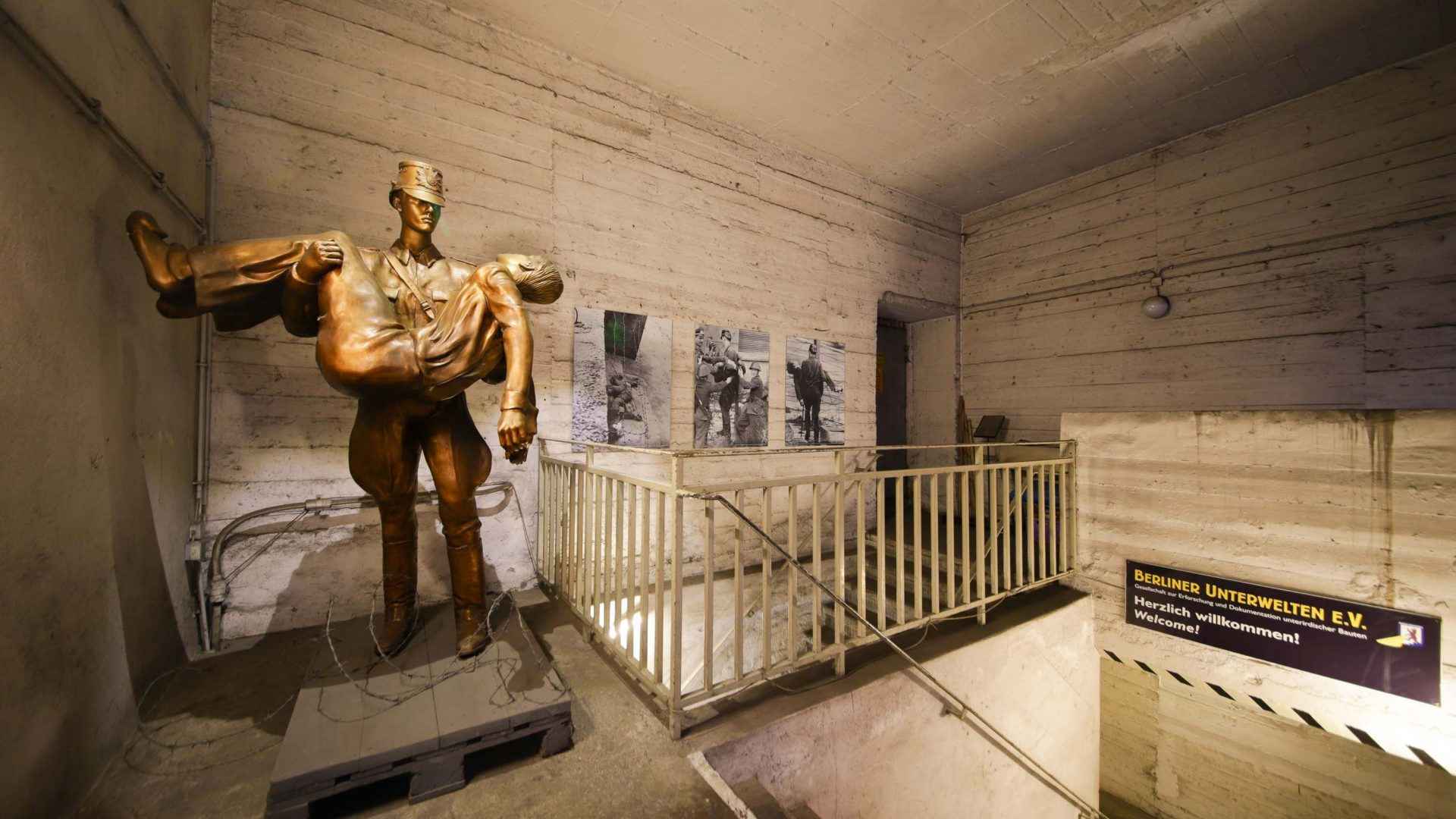 Today, visitors can take underground tours to see the the tunnels and hear tales of escape from East Berlin.