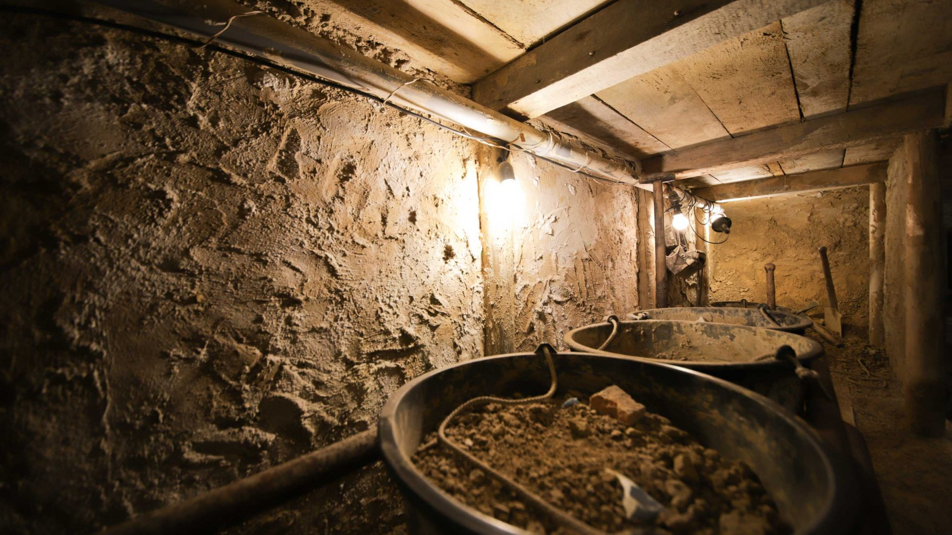 When jumping trains and crawling through sewers didn't work, many resorted to digging their own tunnels to escape East Germany.