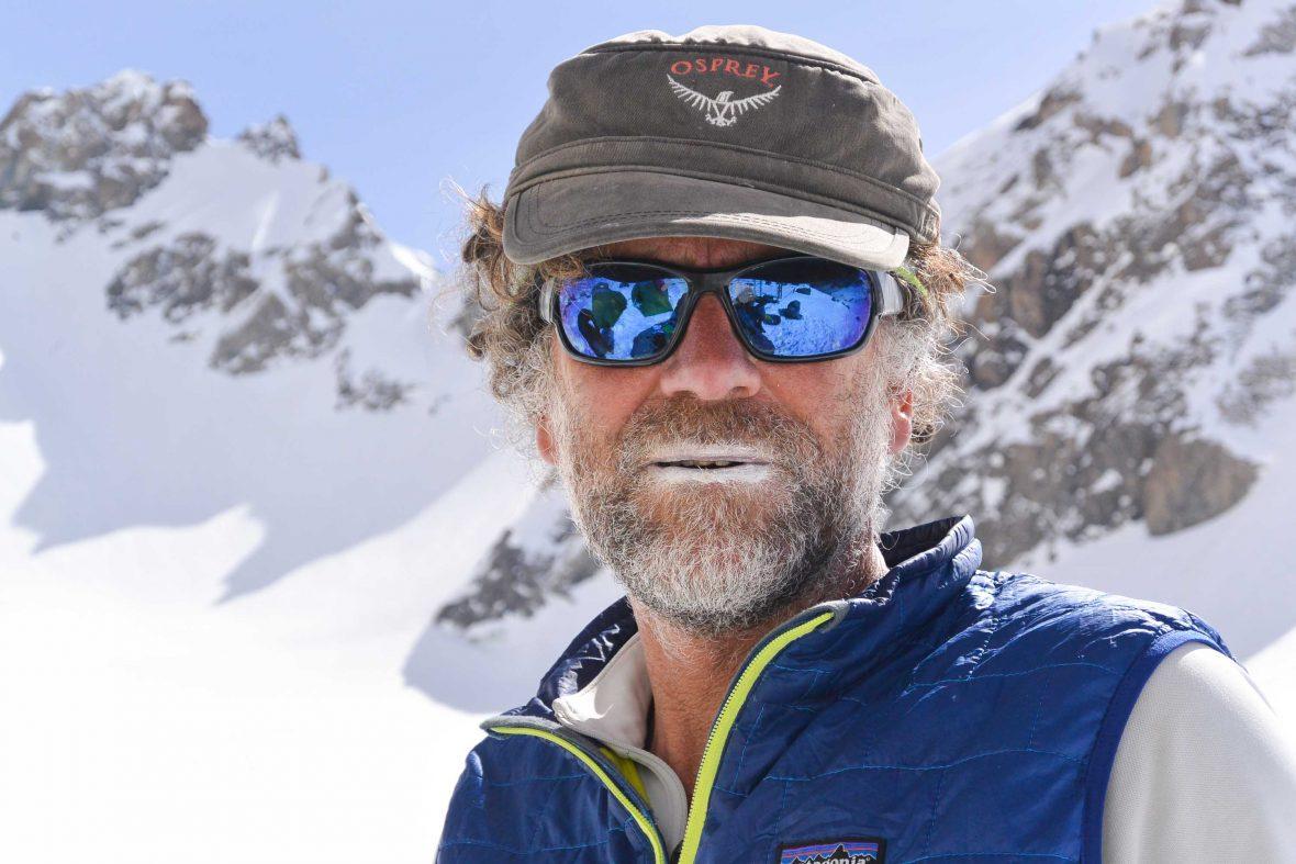 Huw Kingston adventuring in the Fann Mountains in Tajikistan.