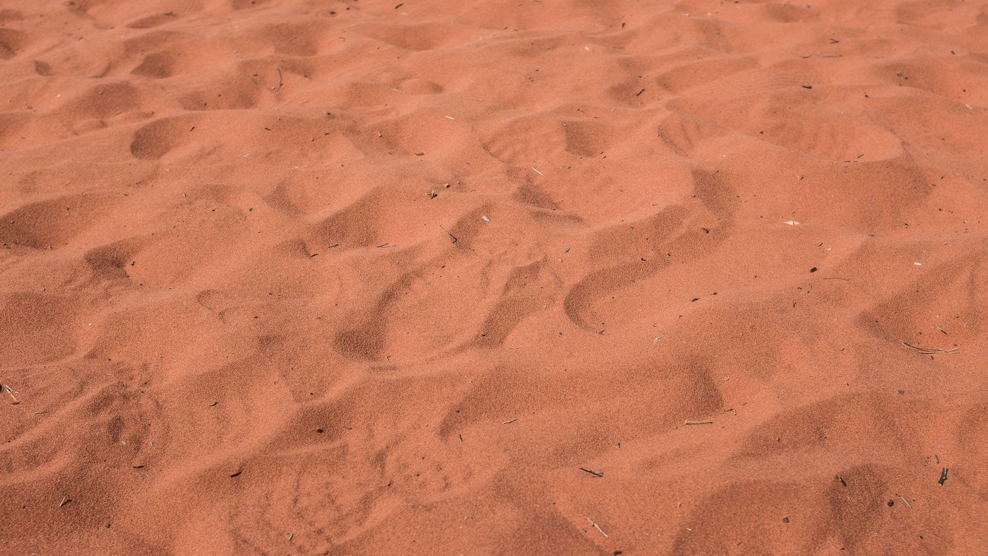 Red Centre sand.