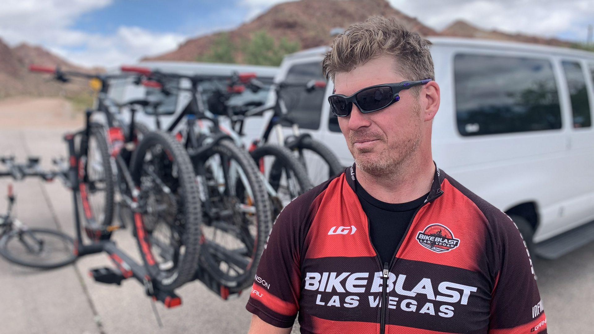 Geoff Flegal of Bike Blast, Las Vegas.