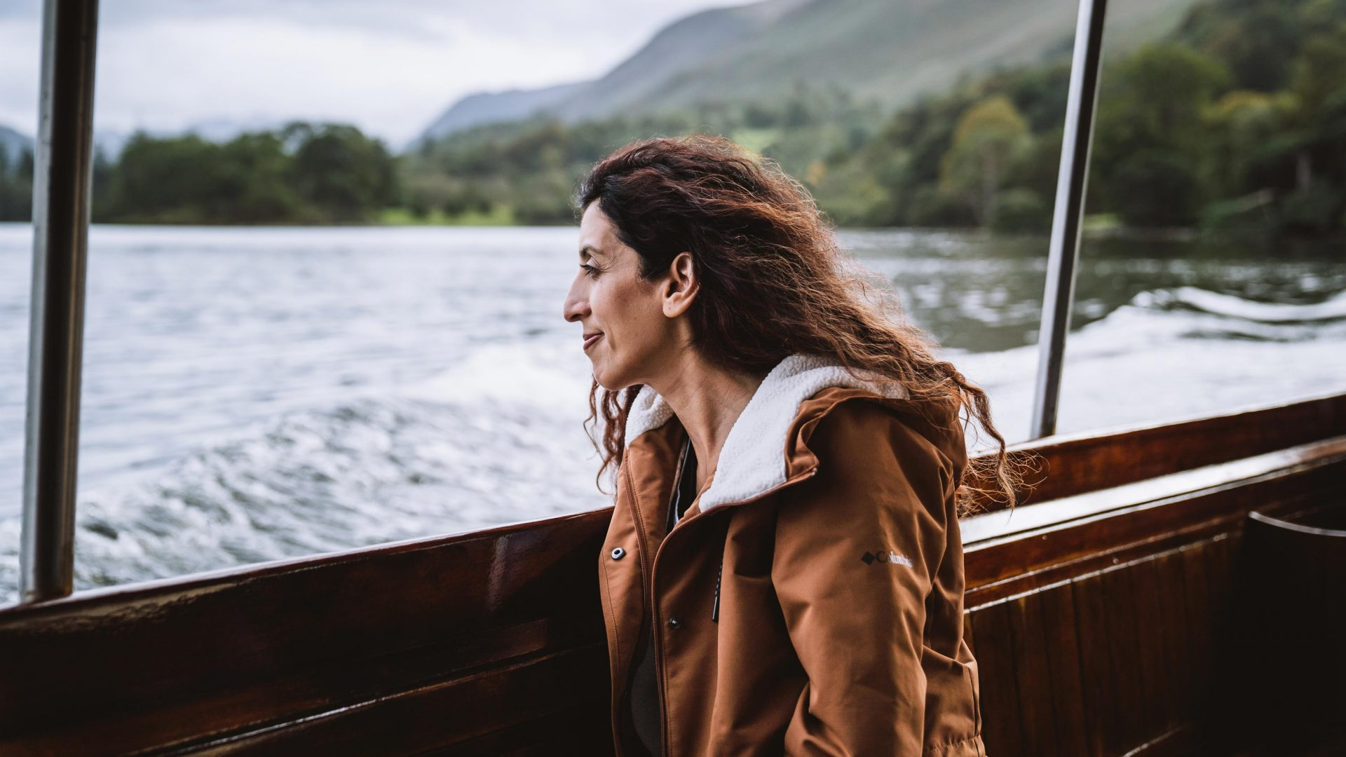Zarina Ahmad, a member of Bonnie Boots Boots, enjoys the fresh air of the Lake District.