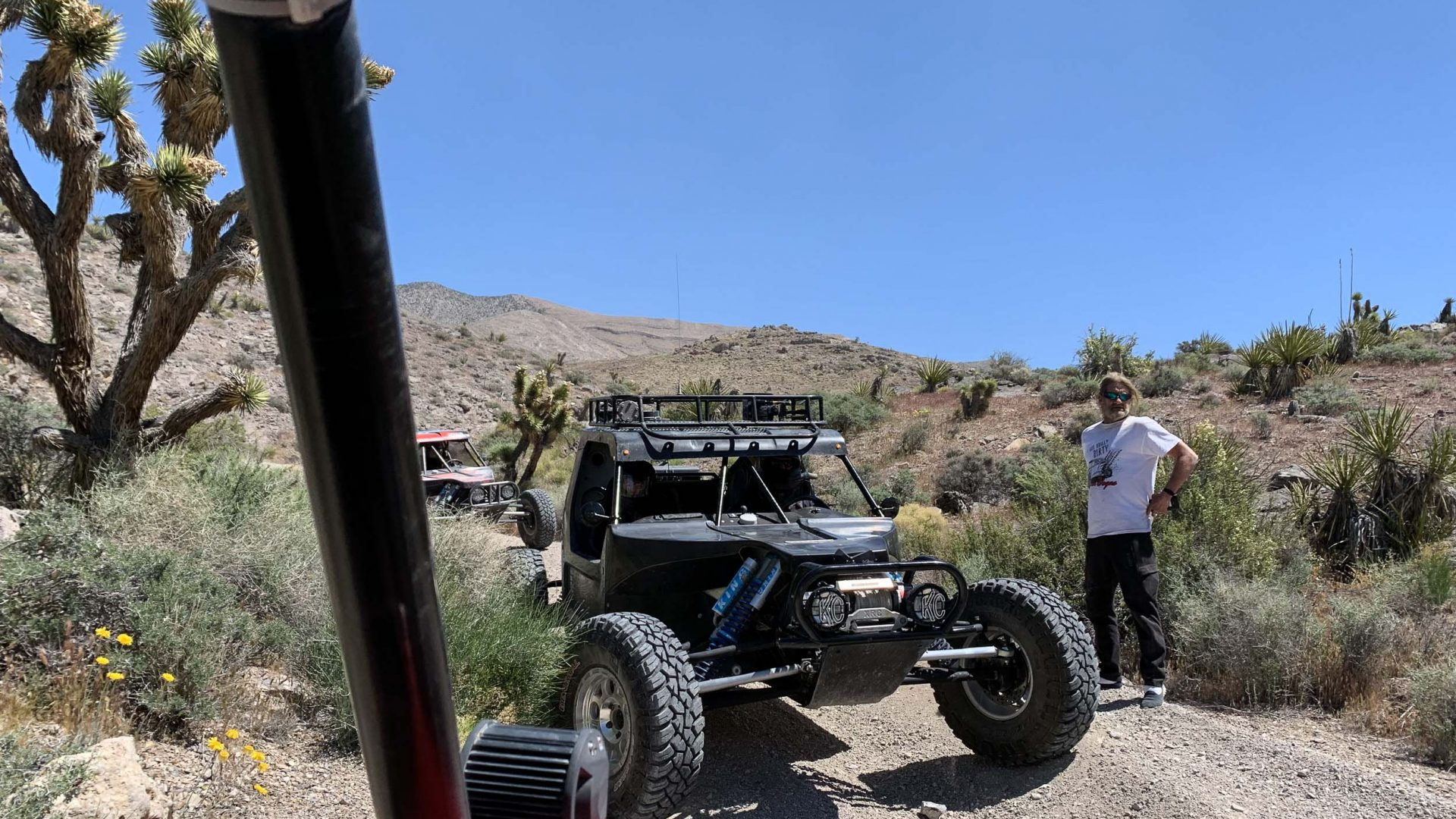 On the road with Vegas Off Road Tours.
