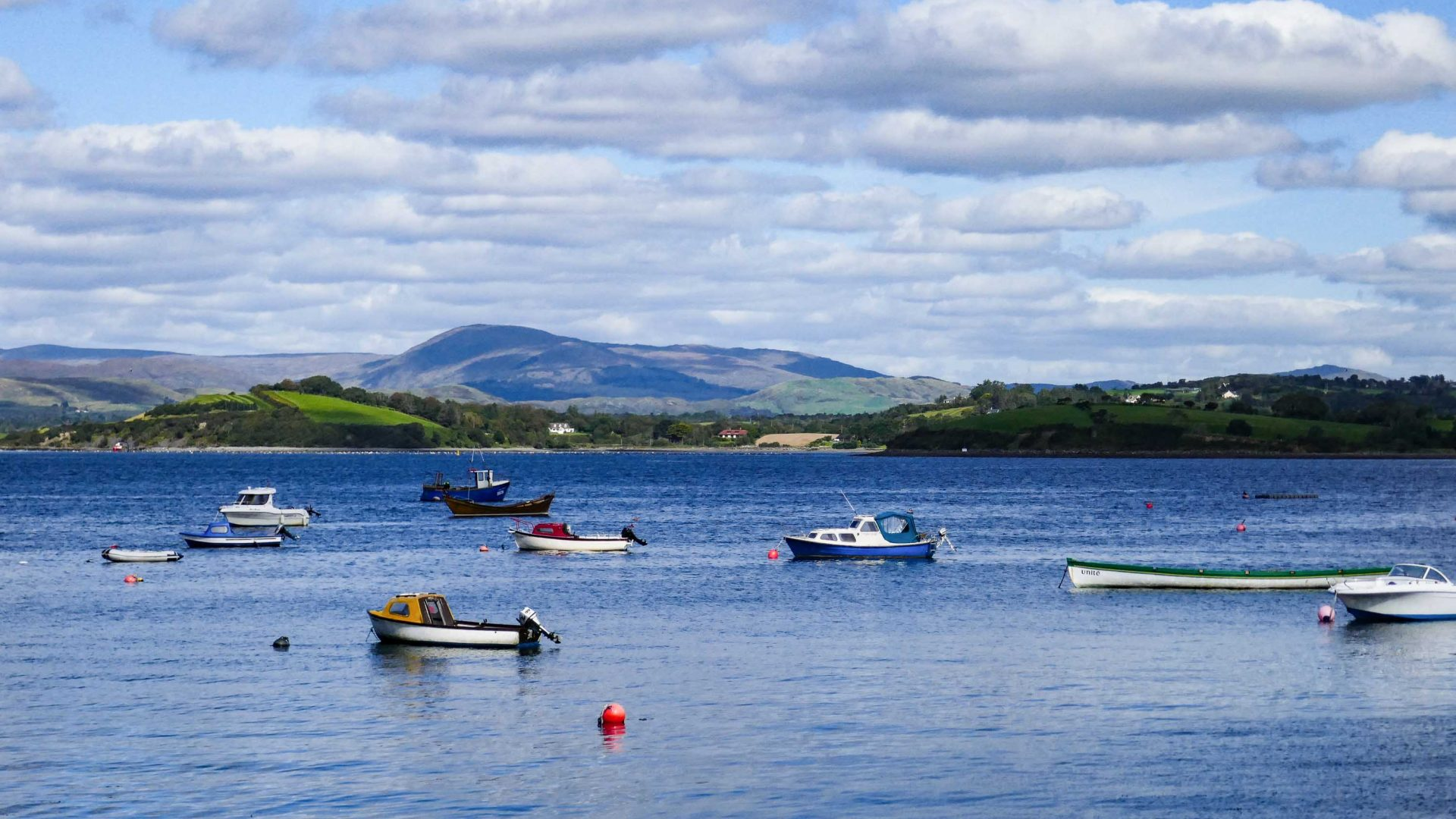 Bantry Bay in County Cork.