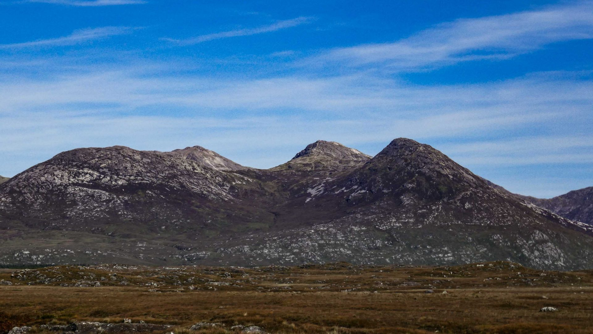 Mountains of Connemara National Park.