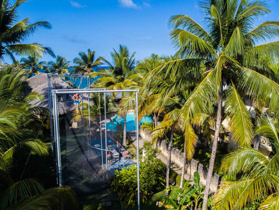 In the surf town of Cabarete in the Dominican Republic, this solar-powered hotel employs over 80 per cent Dominican staff, and has a permaculture-inspired farm with one of the Caribbean's biggest aquaponics systems.