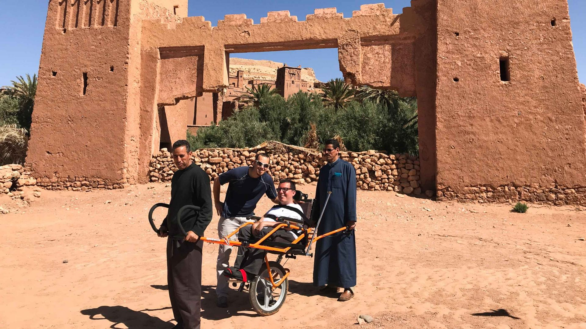 Cory Lee traveling in Morocco.