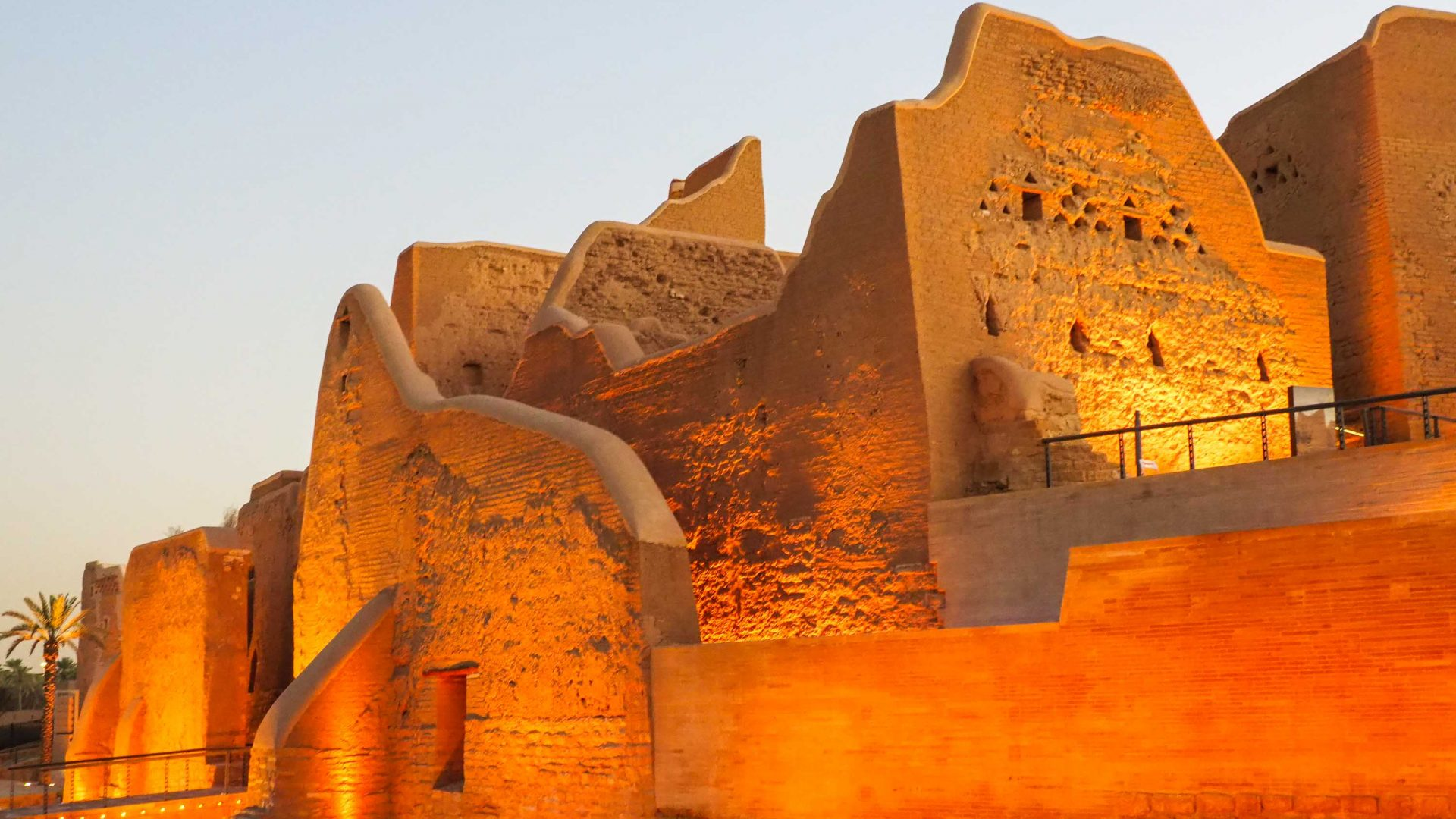 UNESCO-listed At-Turaif is a 15-minute drive from central Riyadh.