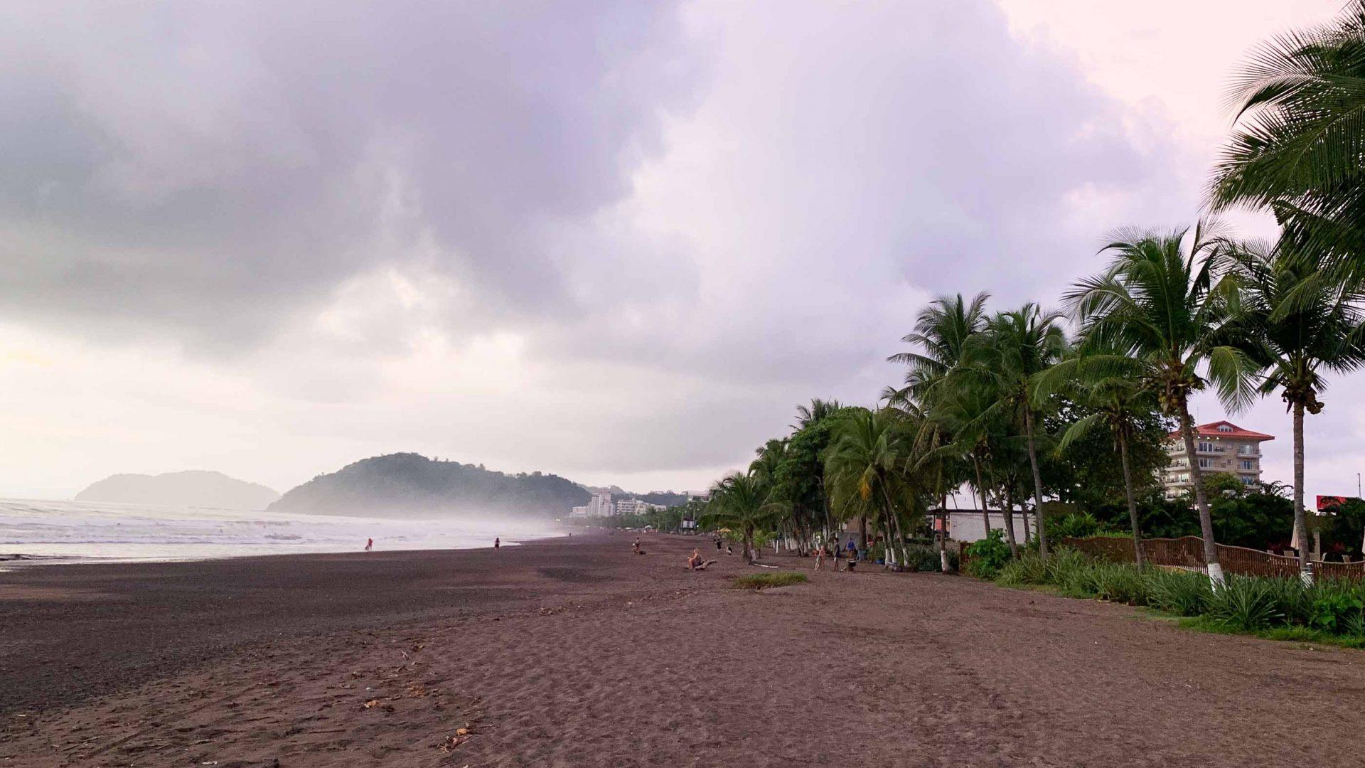 Solo travel: Jaco Beach, Costa Rica.