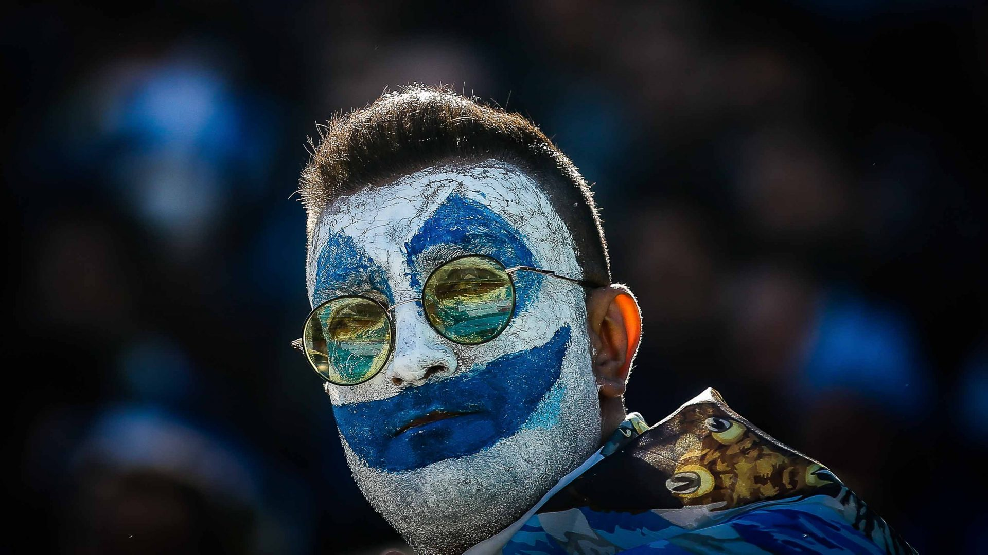 A Esteghlal fan at the Tehran Derby.