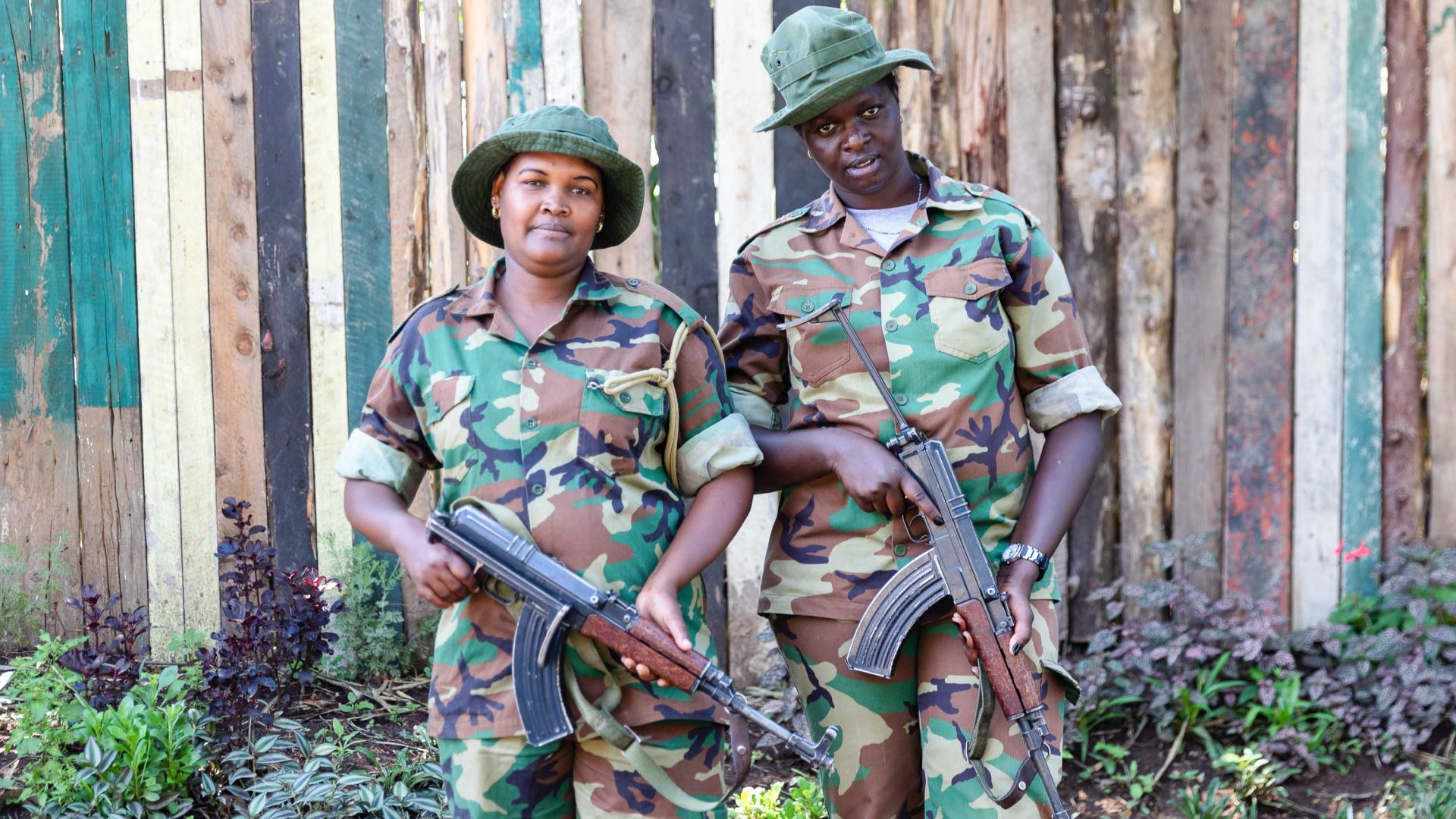 Female park rangers, met during Kenya's women's expedition with Intrepid Travel.
