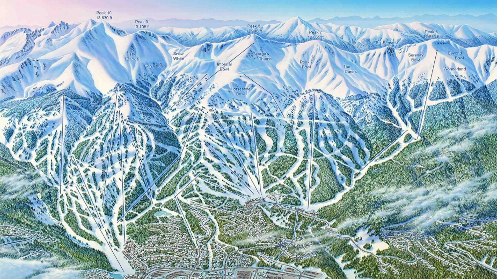 Meet ski map artist James Niehues, the 'Monet of the mountains'
