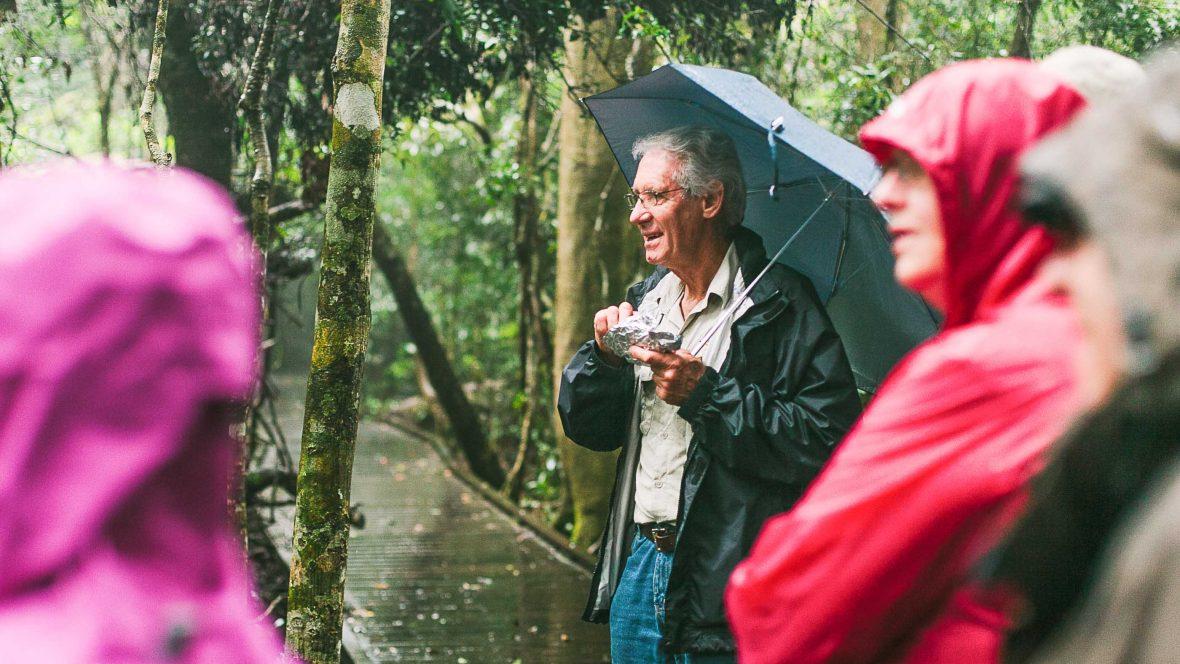 Rainforest guide, bird whisperer: Meet Queensland's answer to David Attenborough